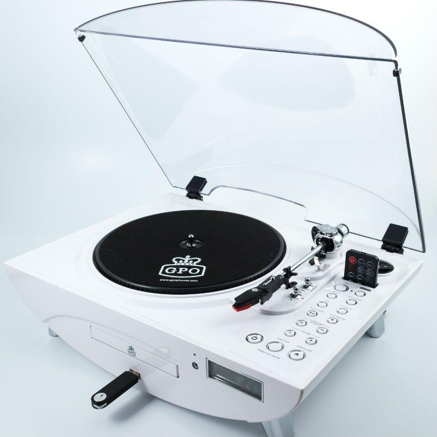 Compare prices for GPO Retro Jive Record Turntable