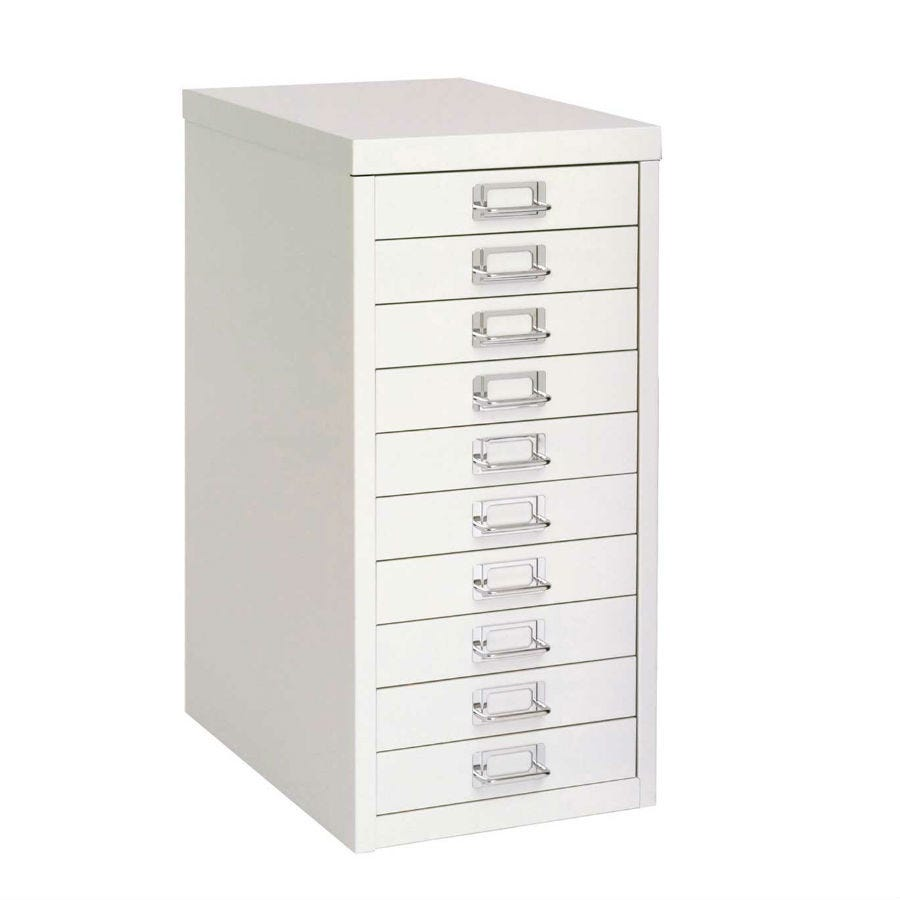 Compare prices for Bisley 10-Drawer Filling Cabinet