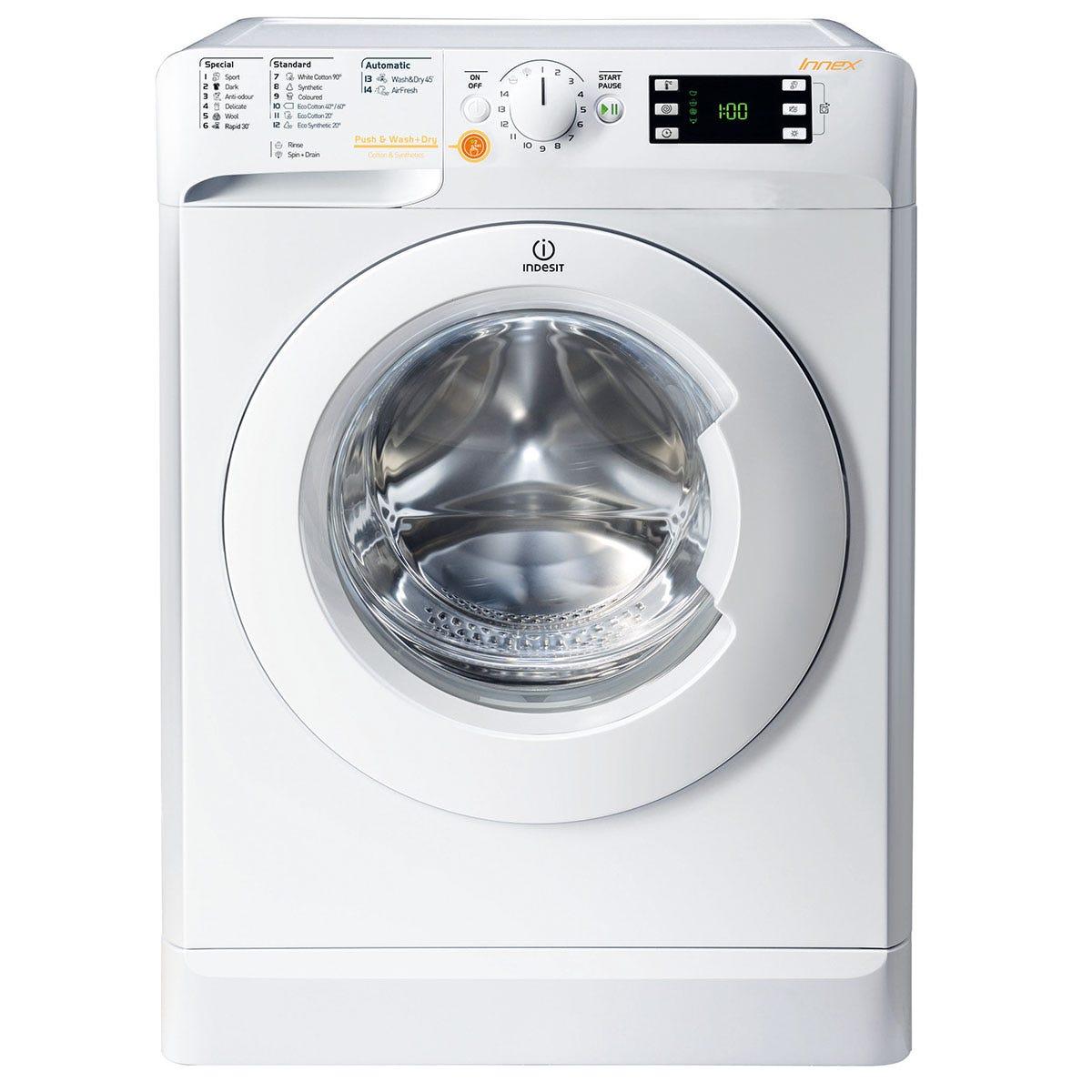 indesit xwde 861480x w washer dryer - white