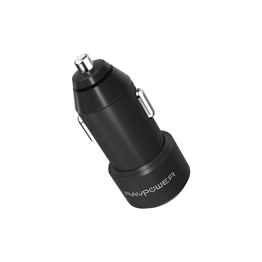 Image of Ravpower 24W 2-Port Mini USB Car Charger