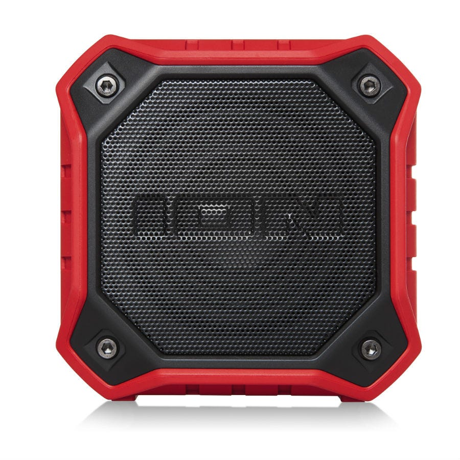 Compare prices for Ion Dunk Waterproof Portable Bluetooth Speaker - Red