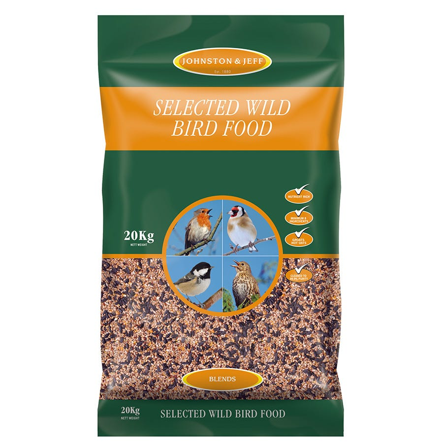 Compare prices for Johnston and Jeff Wild Bird Seed Blend - 20kg