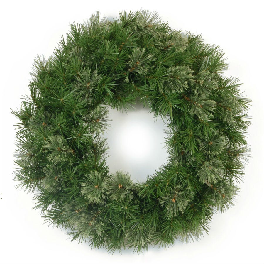 Cheapest price of National Tree Company Atlanta Spruce Wreath in new is £29.99