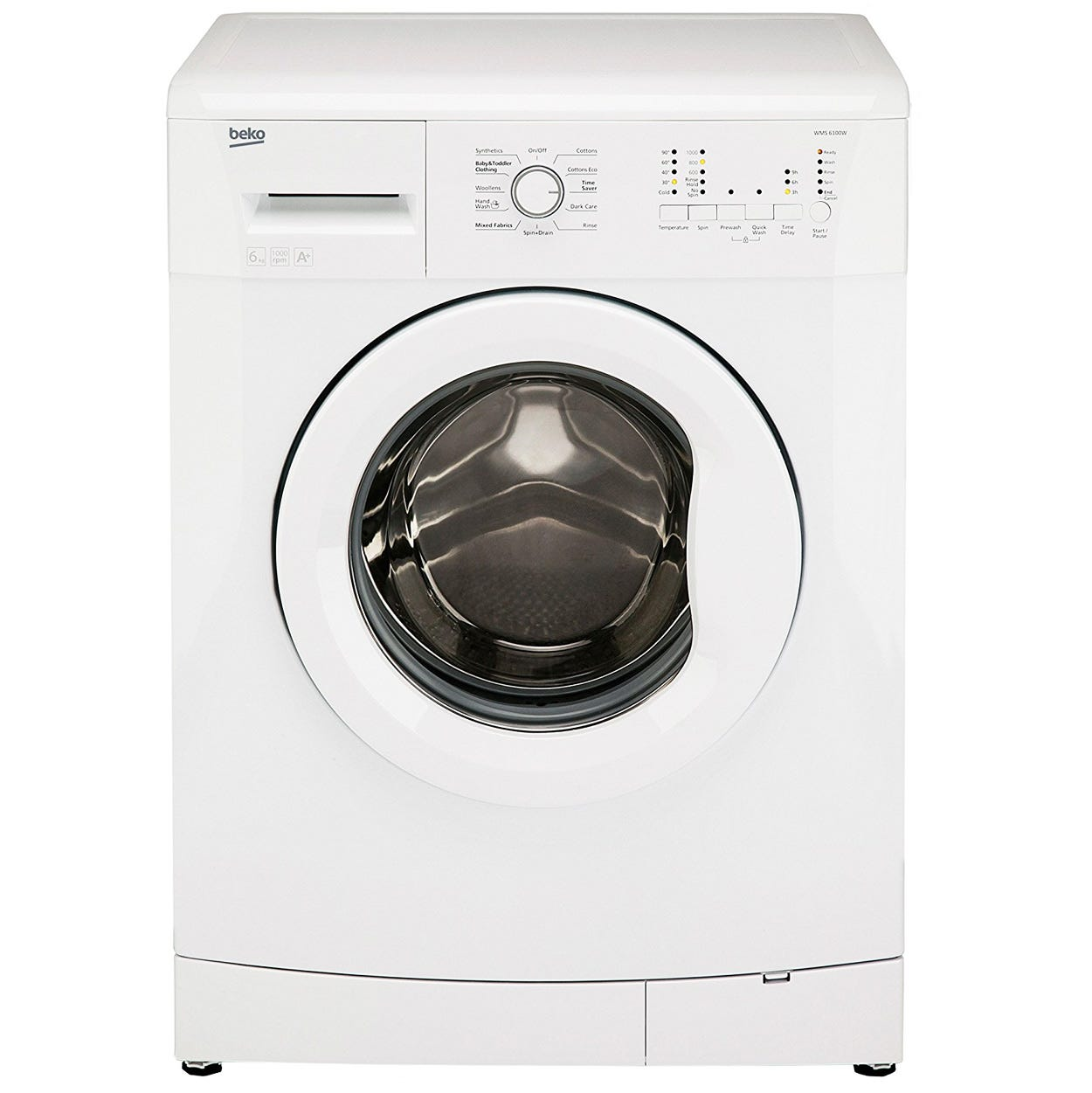 Compare prices for Beko WMS6100W 6kg 1000RPM Washing Machine - White