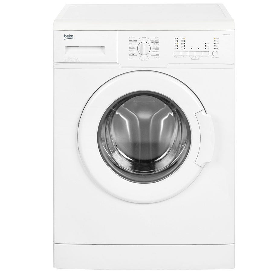 Compare cheap offers & prices of Beko WM5122W 5kg 1200RPM Washing Machine - White manufactured by Beko