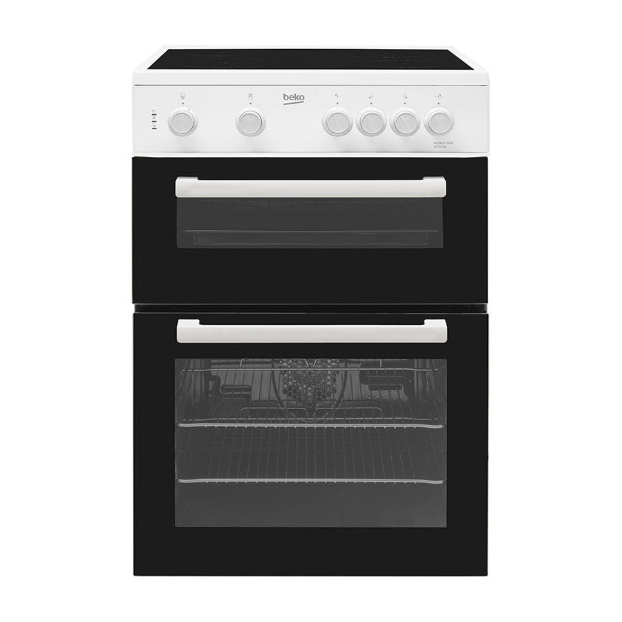 Compare cheap offers & prices of Beko Freestanding KTC611W Electric Cooker - White manufactured by Beko