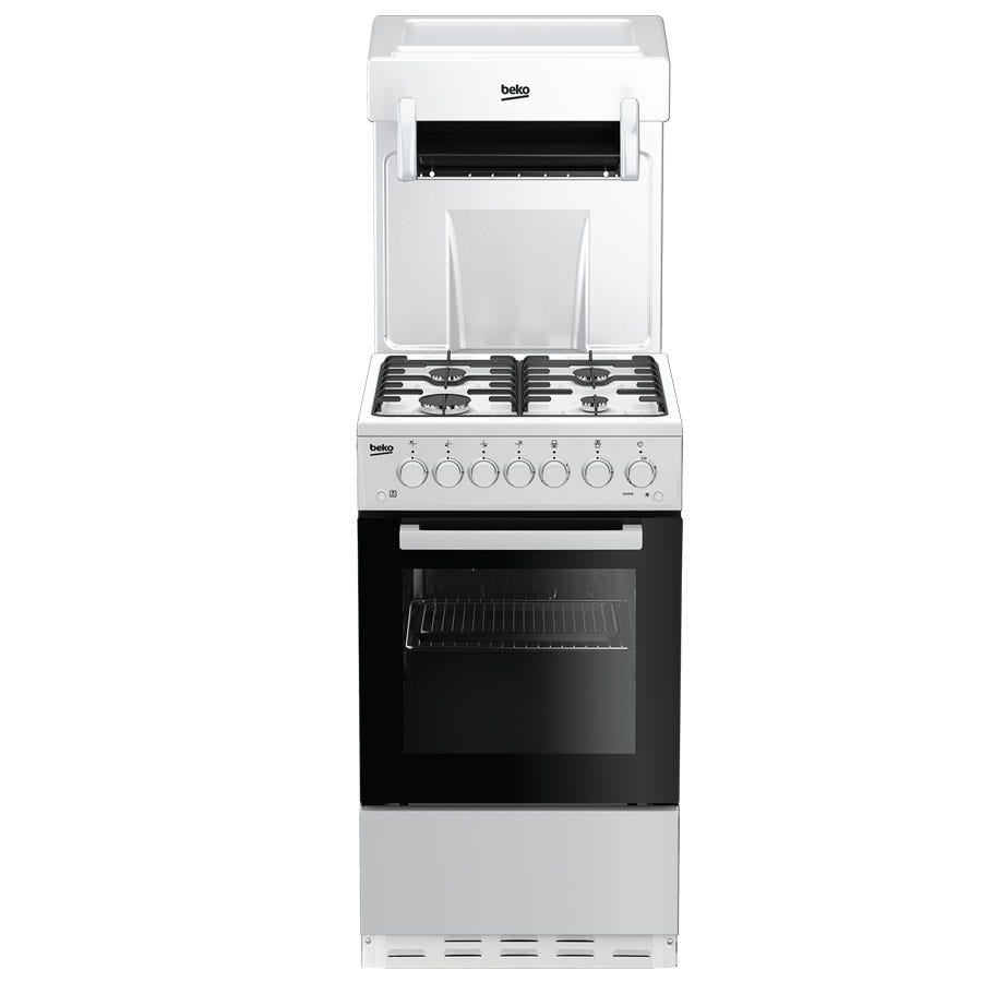 Compare cheap offers & prices of Beko KA52NEW Single Oven Gas Cooker - White manufactured by Beko