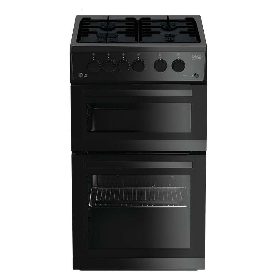 Compare cheap offers & prices of Beko KDG582K Double Oven Gas Cooker - Black manufactured by Beko