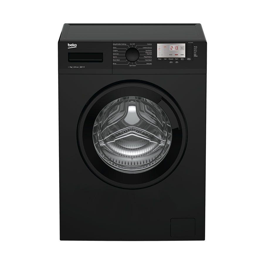 Compare prices for Beko WTG721M1B 7kg 1200rpm Washing Machine - Black