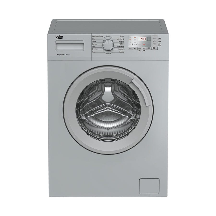 Compare retail prices of Beko WTG741M1S 7kg 1400rpm Washing Machine - Silver to get the best deal online