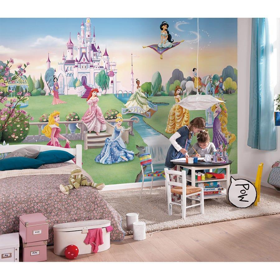 Disney Princess Castle Wallpaper Mural