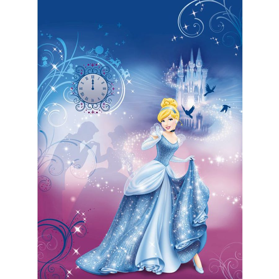 Compare cheap offers & prices of Disney Princess Cinderella Wall Mural manufactured by Disney