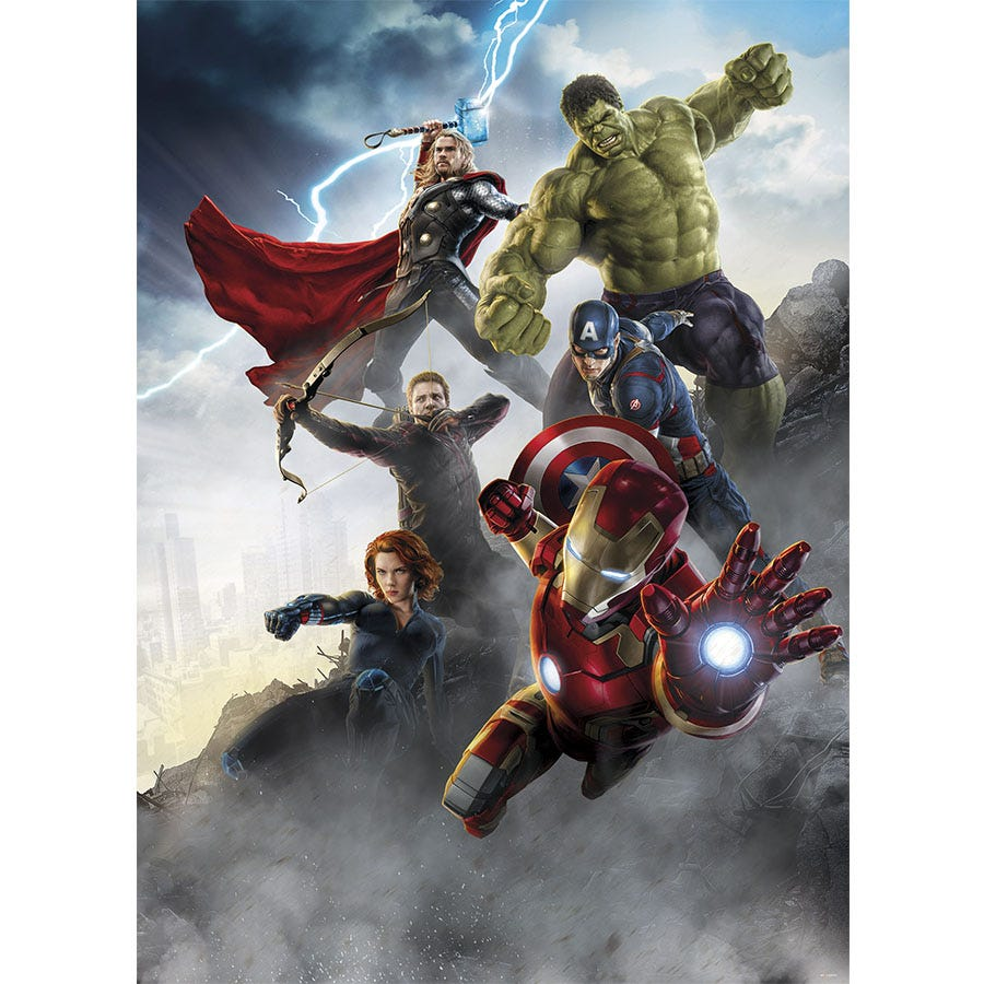 Image of Marvel Avengers Age of Ultron Wall Mural