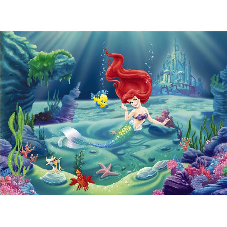 Compare cheap offers & prices of Disney The Little Mermaid Wall Mural manufactured by Disney