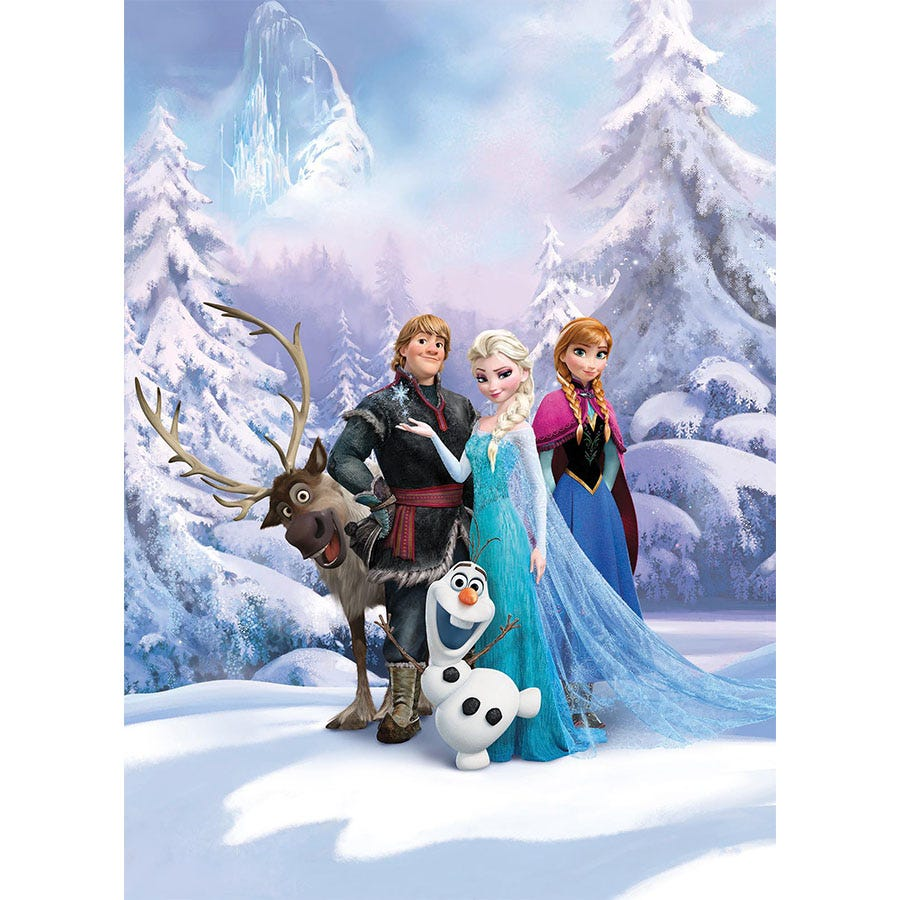 Compare prices for Disney Frozen Winter Land Wall Mural