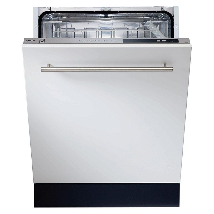 sharp qw gt24f463w en. sharp qw-d21i492x full-size integrated dishwasher qw gt24f463w en w