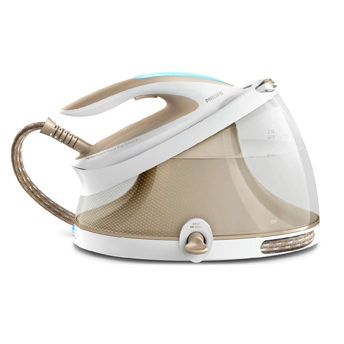 Image of Philips Perfect Care Compact Steam Generator - Gold/White