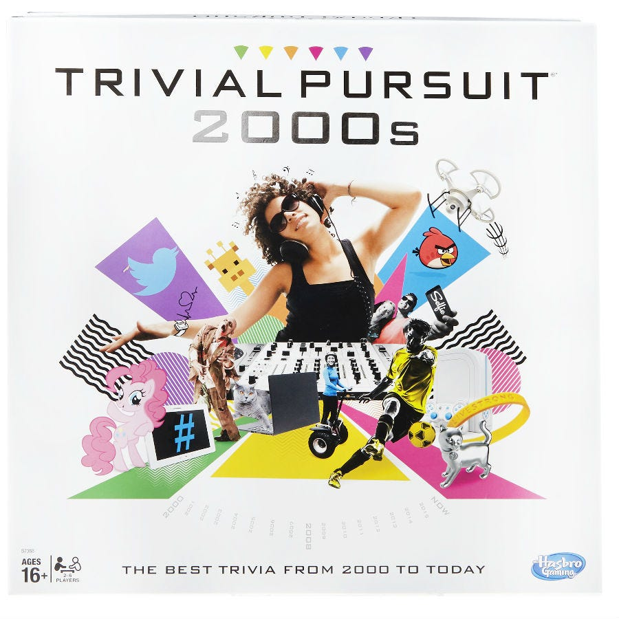 Compare prices for Hasbro Trivial Pursuit 2000s