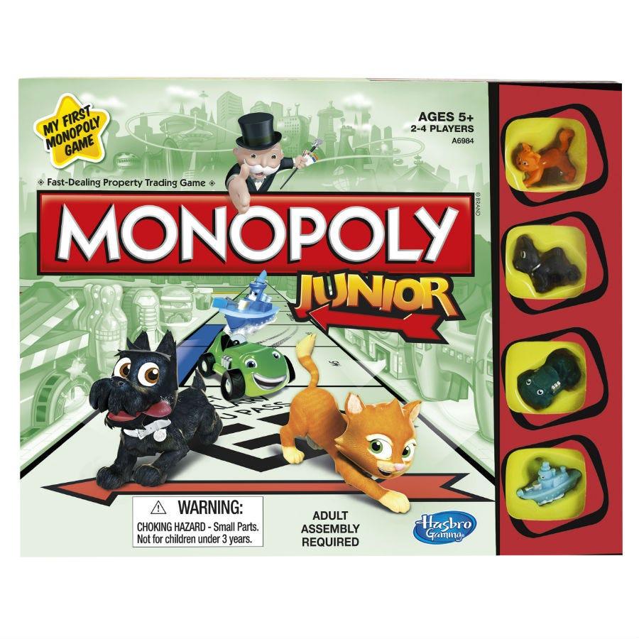 Compare prices for Hasbro Monopoly Junior