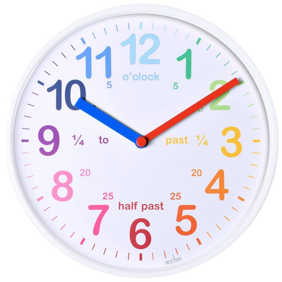 Acctim Wickford Wall Clock - White