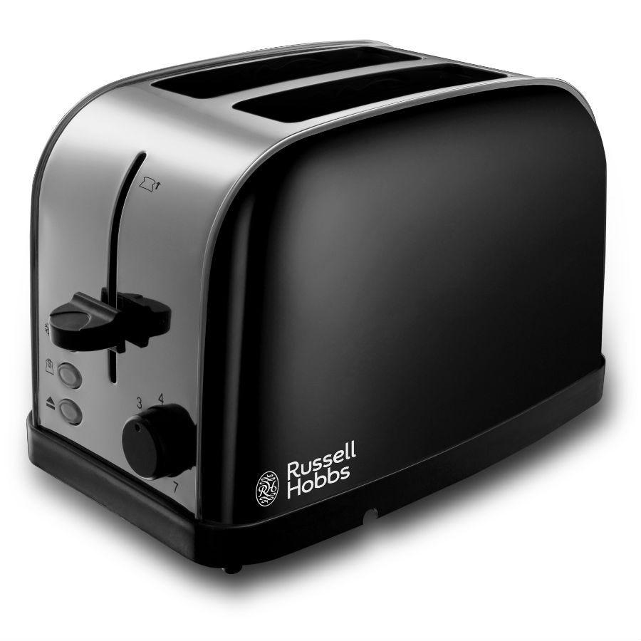 Russell Hobbs 18782 Dorchester 2-Slice Toaster - Black