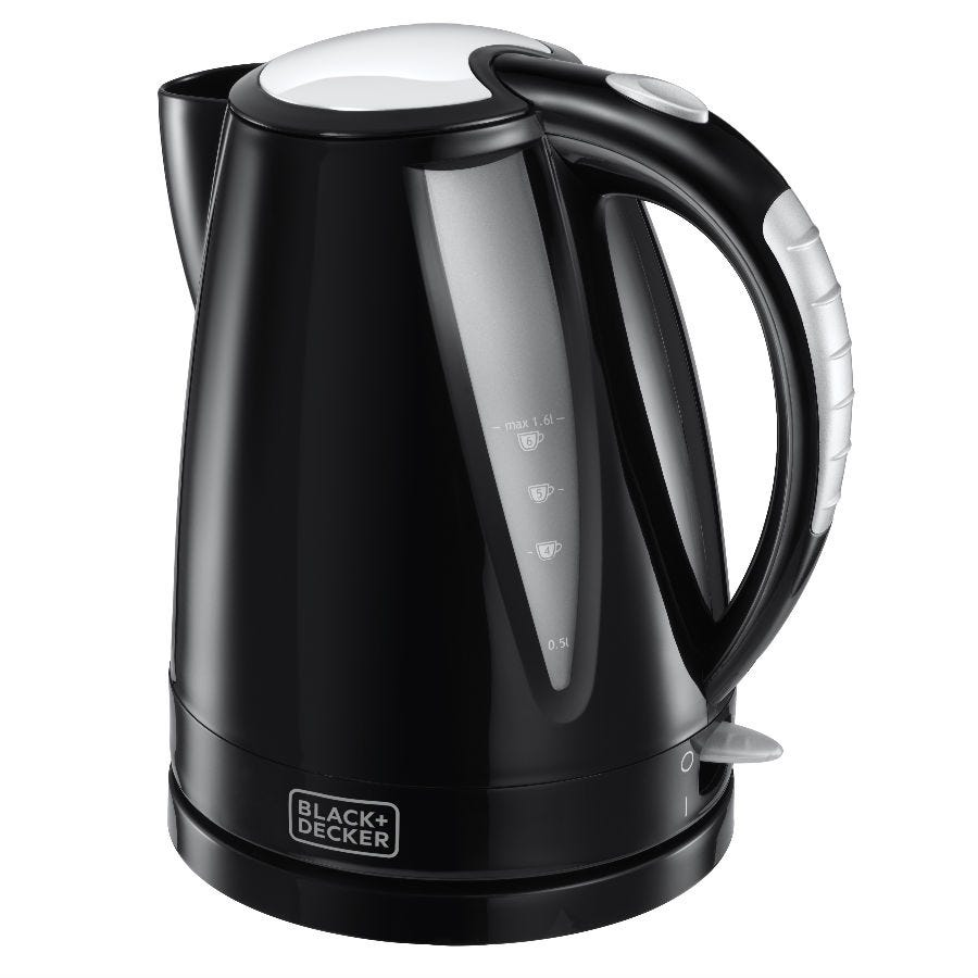 Compare prices for Black and Decker 1.6L Kettle - Black