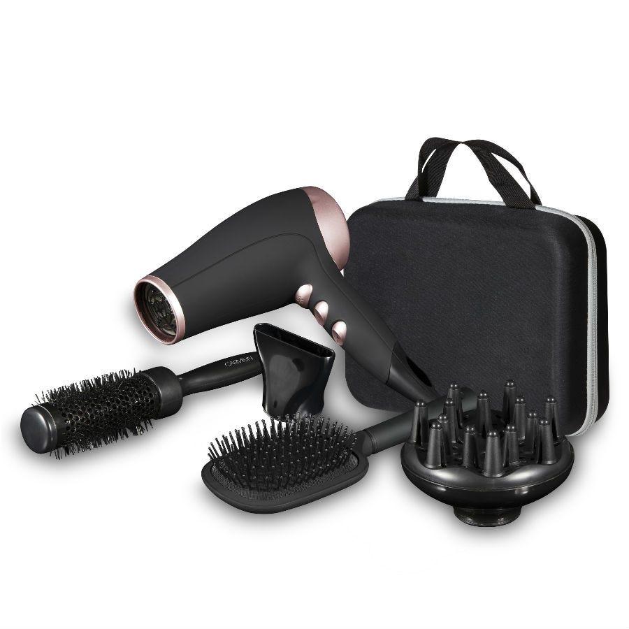 Carmen 2200-Watt Hairdryer Gift Set