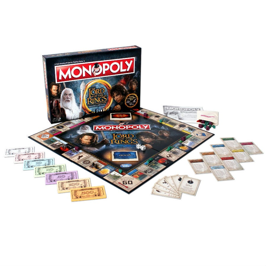 Compare prices for Monopoly - Lord of the Rings Edition
