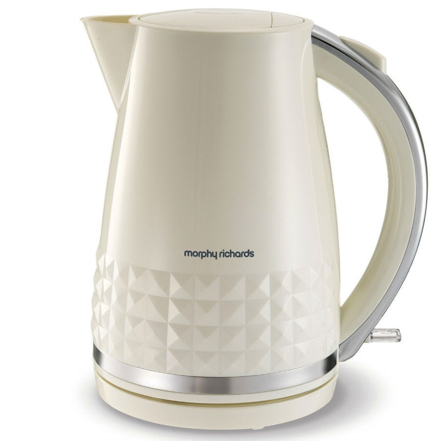 Compare prices for Morphy Richards 1.5L Dimensions Jug Kettle - Cream