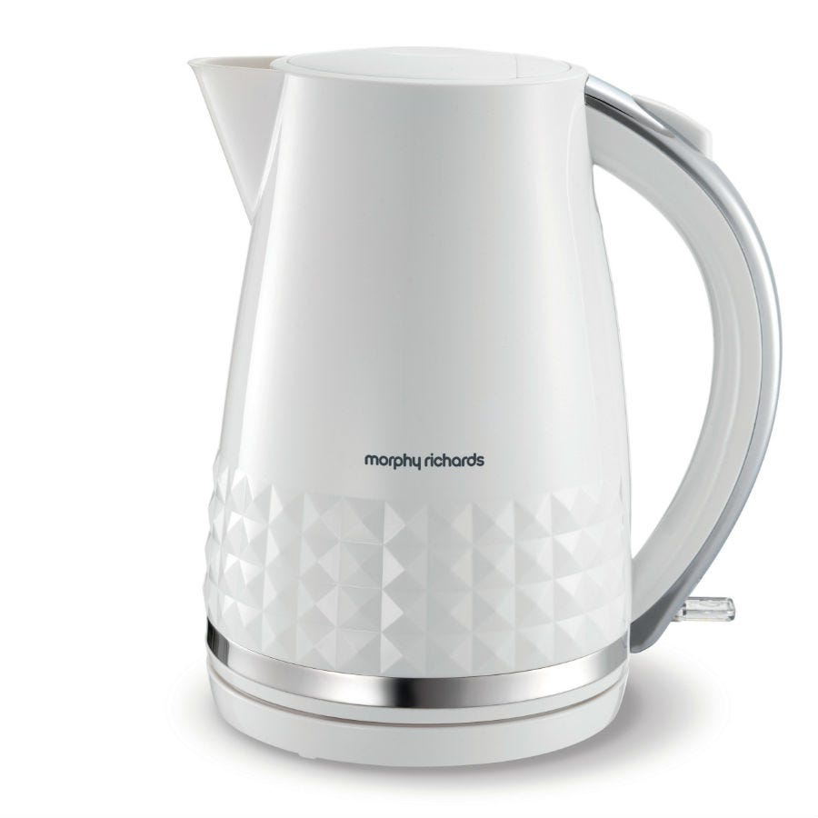 Compare prices for Morphy Richards 1.5L Dimensions Jug Kettle - White