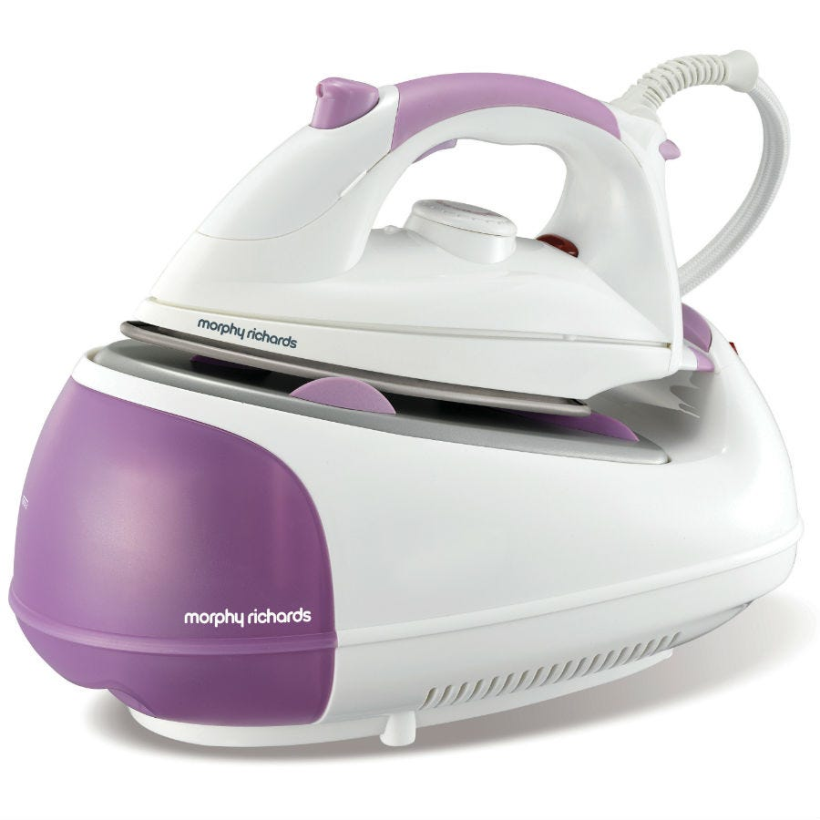 Image of Morphy Richards Steam Generator Ceramic Soleplate Iron