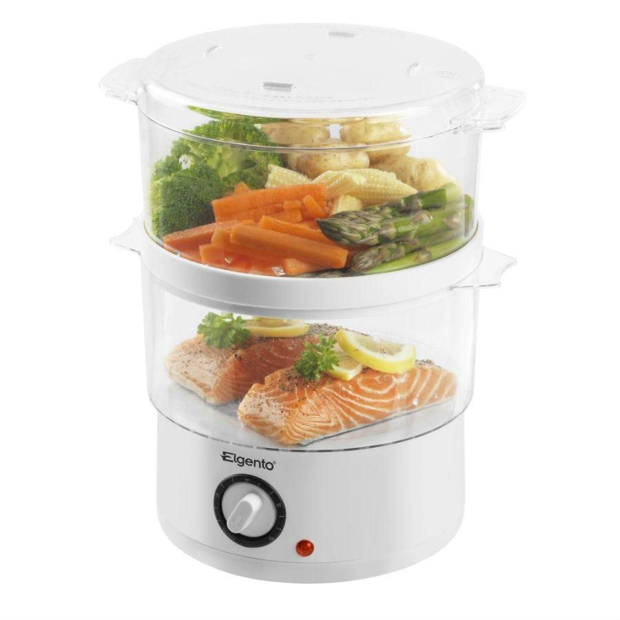 Compare retail prices of Elgento 2-Tier Steam Cooker to get the best deal online