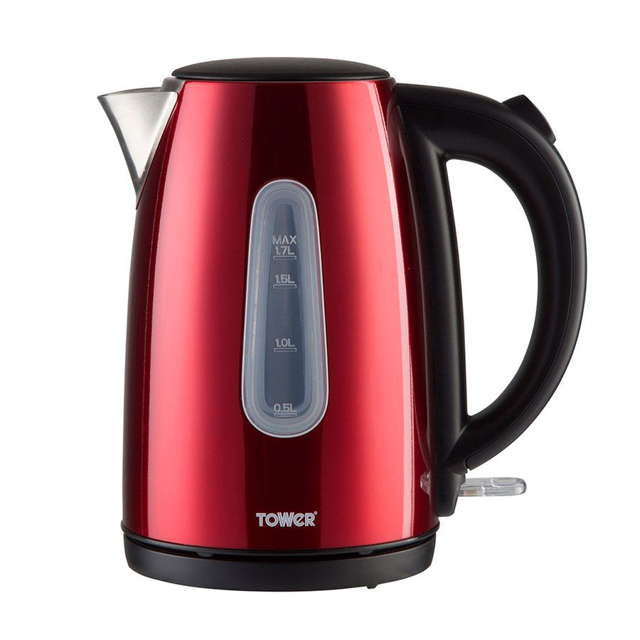Tower T10015R 1.7L Jug Kettle - Red