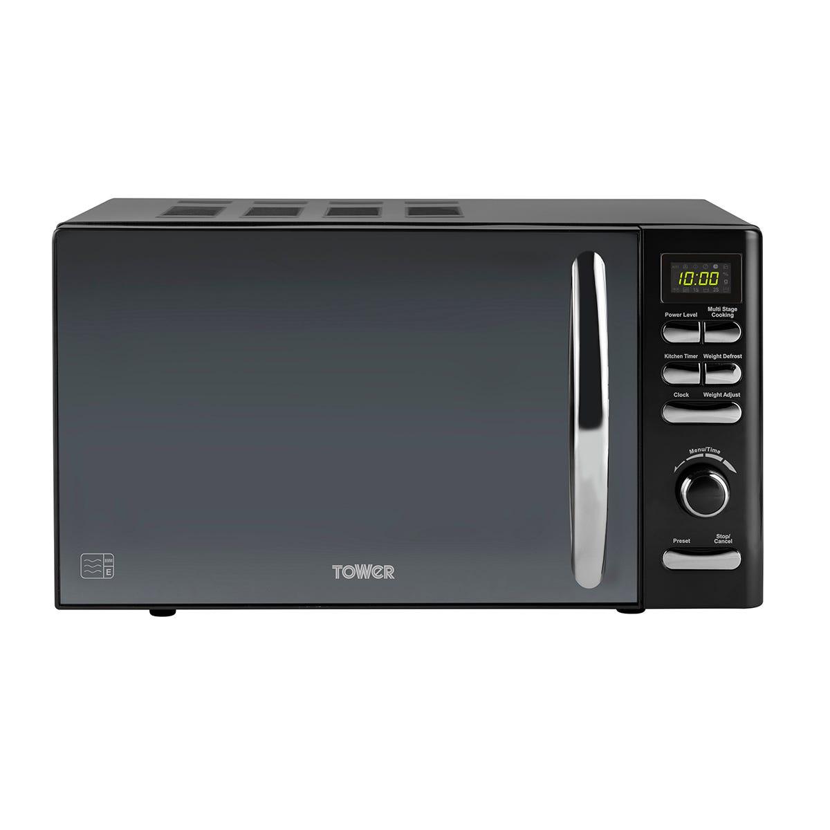 Tower T24019 Infinity 800W 20L Digital Microwave - Black