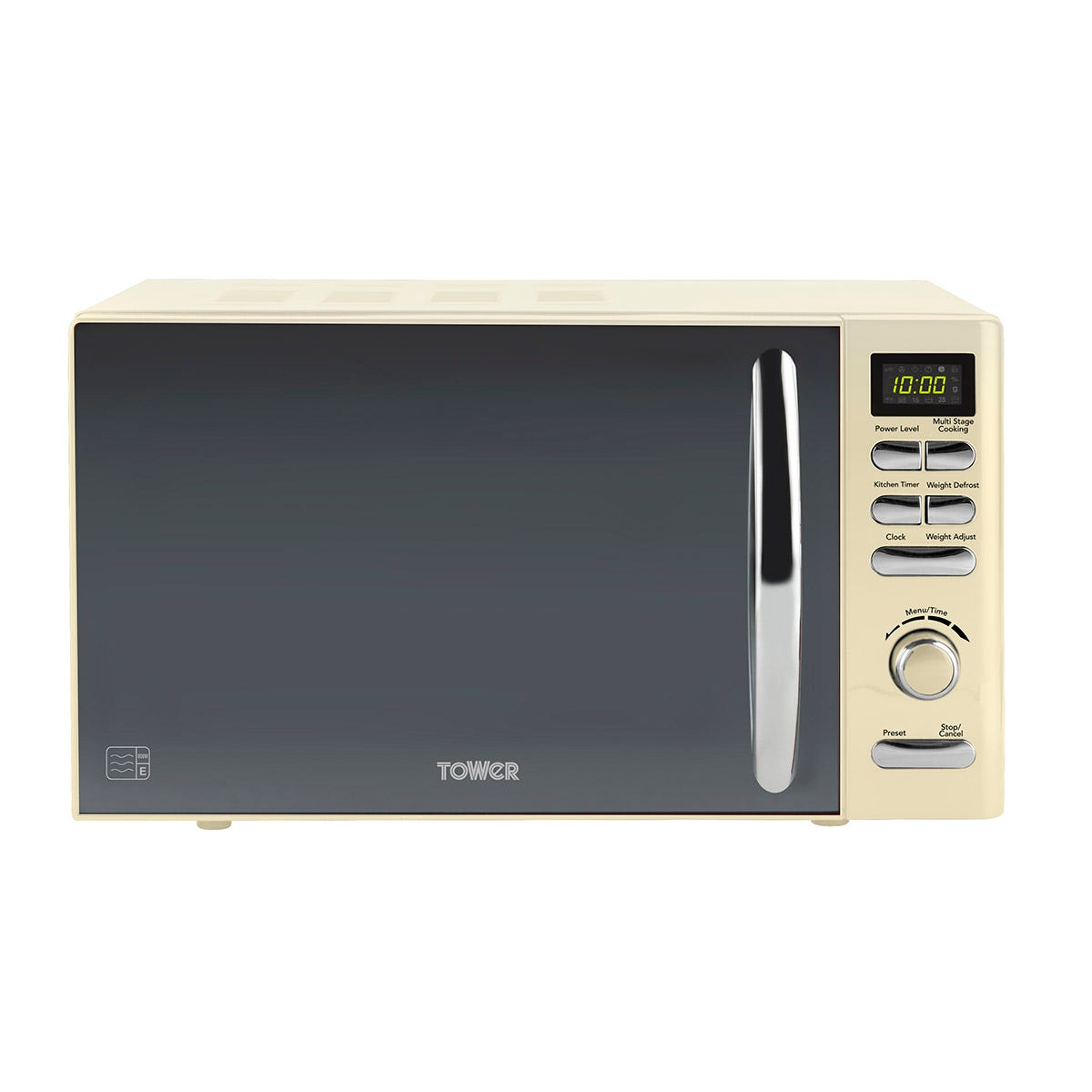 Tower T24019C Infinity 800W 20L Digital Microwave - Cream