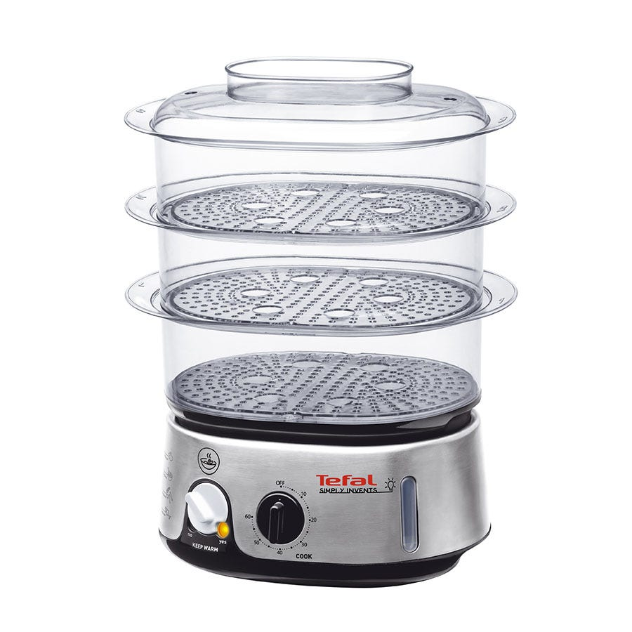 Tefal Simply Invents Steamer - Silver