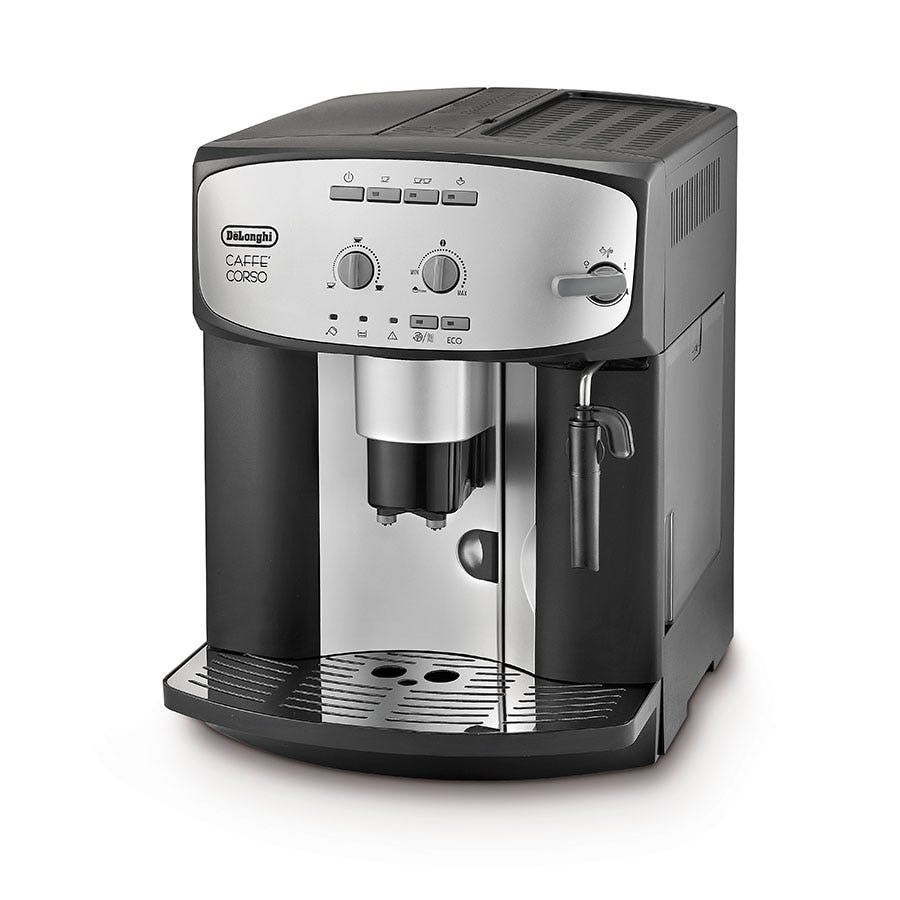 Compare cheap offers & prices of DeLonghi Caffe Corso Bean to Cup Coffee Machine - Black manufactured by Delonghi