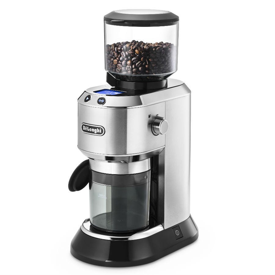 Compare cheap offers & prices of Delonghi Dedica Coffee Grinder - Silver manufactured by Delonghi