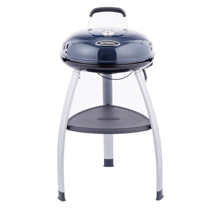 Image of Outback Trekker Portable Gas BBQ - Blue