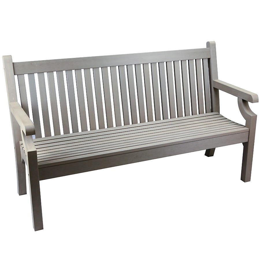 Sandwick Winawood 3-Seater Garden Bench - Grey