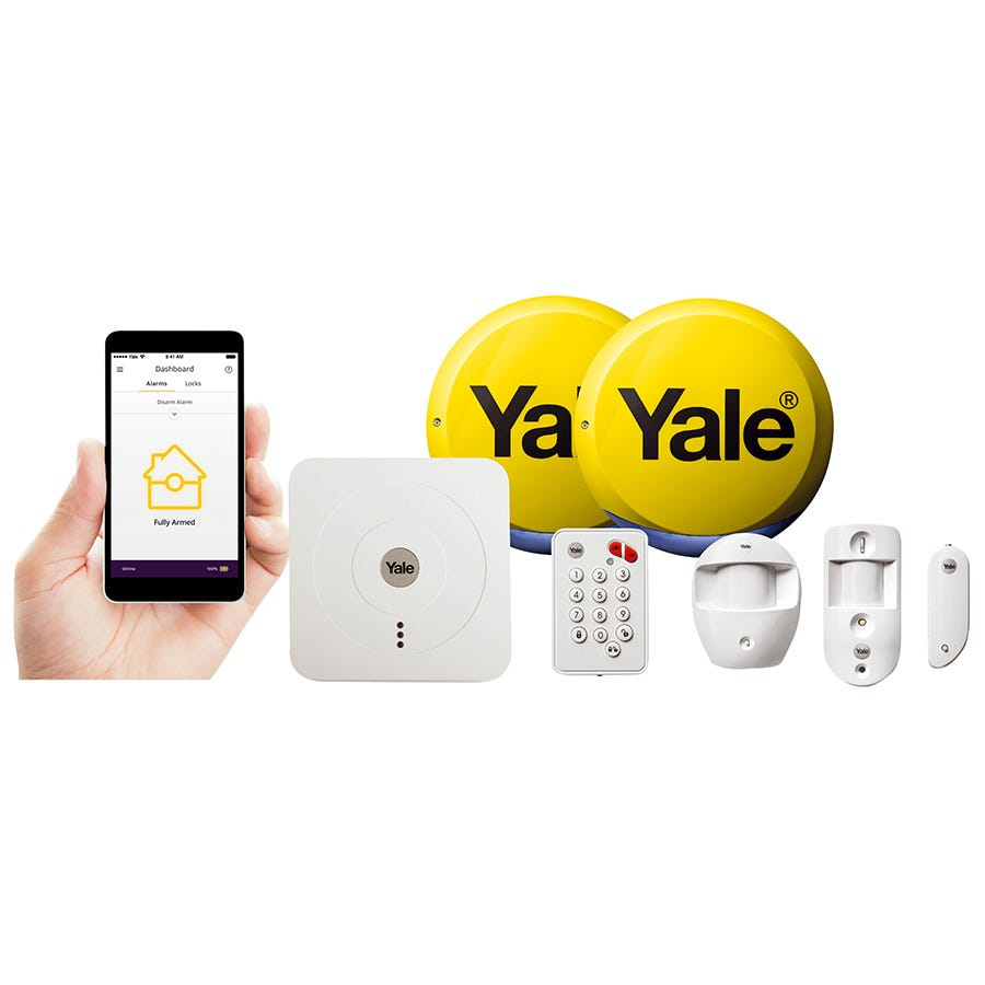 Compare retail prices of Yale Smart Living Home Alarm and View Kit to get the best deal online