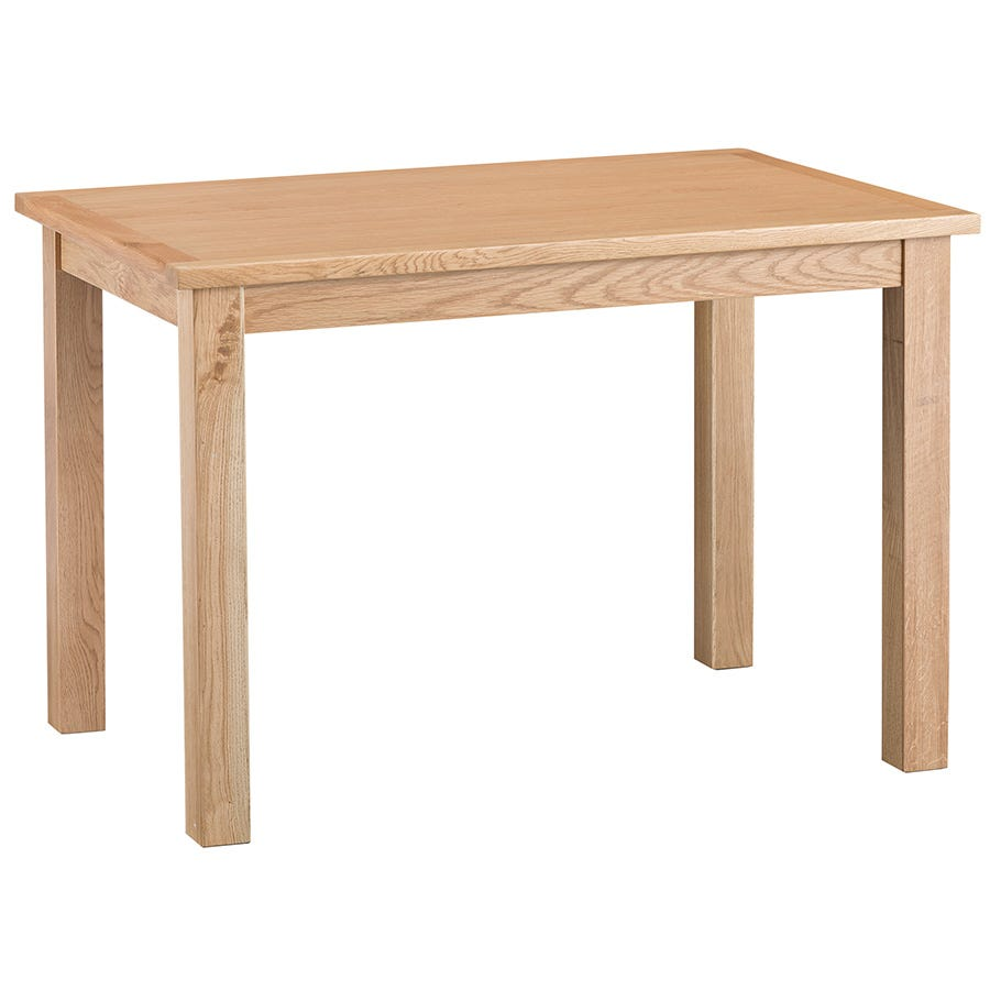 Fjord compact dining table dark stain oak and octer for Epl table 99 00