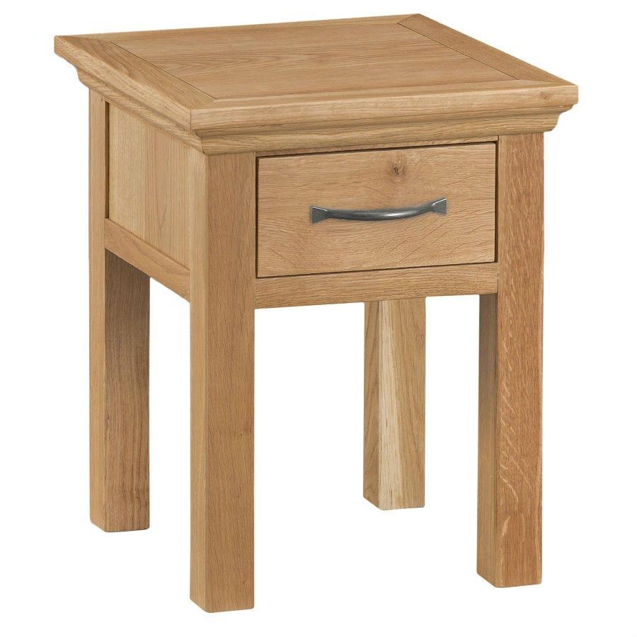 Hindsley Oak Lamp Table