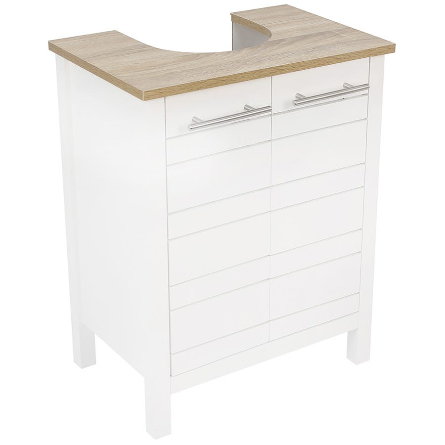 Image of Alethea Sink Cabinet - White Oak