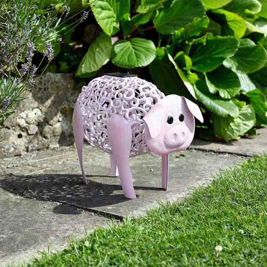 Compare prices for Smart Solar Silhouette Delilah Pig