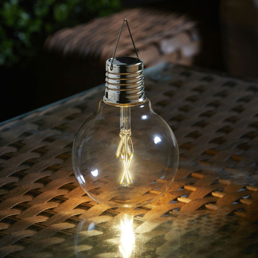 Compare prices for Smart Solar Eureka Vintage Bulb Light