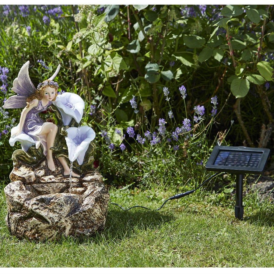 Compare prices for Smart Solar Liliana Cascade Garden Fairy Fountain