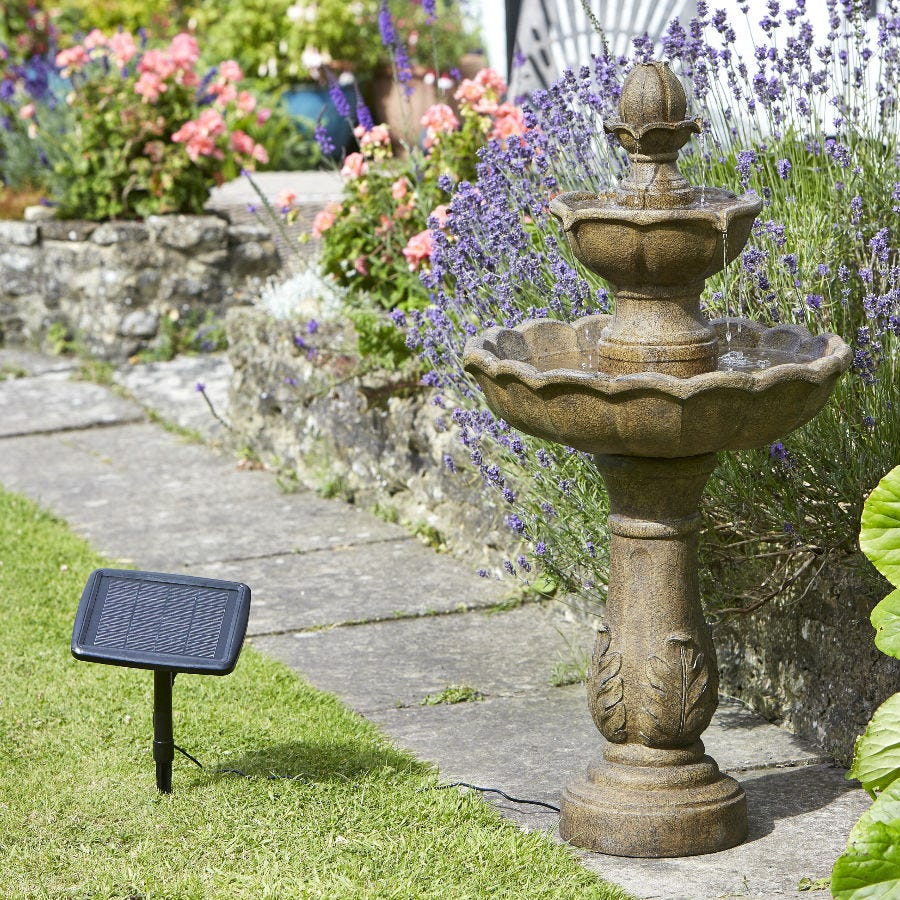 Compare prices for Smart Solar Kingsbury Garden Fountain