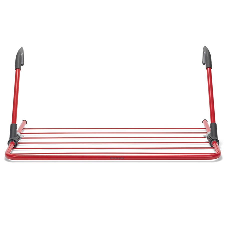 Brabantia 4.5m Foldable Radiator Airer - Passion Red