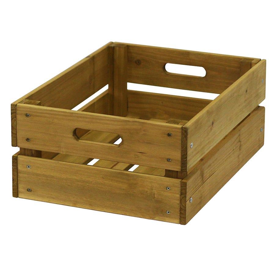 VegTrug Wooden Crate - Natural